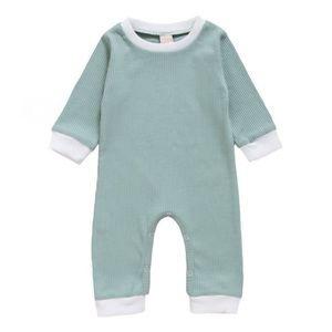 MINT | Baby ribbed bodysuit romper